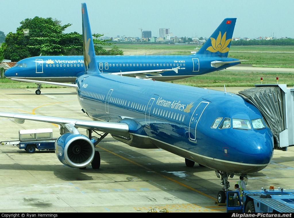 Vietnam Airlines VN-A357 aircraft at Ho Chi Minh City - Tan Son Nhat Intl