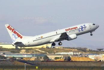 EC-HBM - Air Europa Boeing 737-800