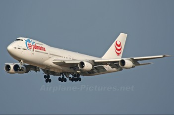 EC-JFR - Air Pullmantur Boeing 747-200
