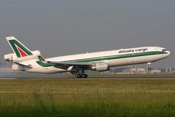 I-DUPA - Alitalia Cargo McDonnell Douglas MD-11F