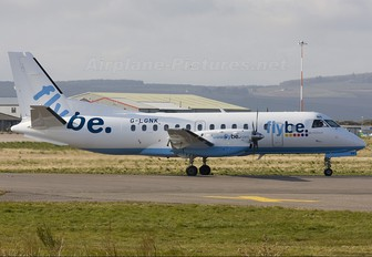 G-LGNK - FlyBe - Loganair SAAB 340