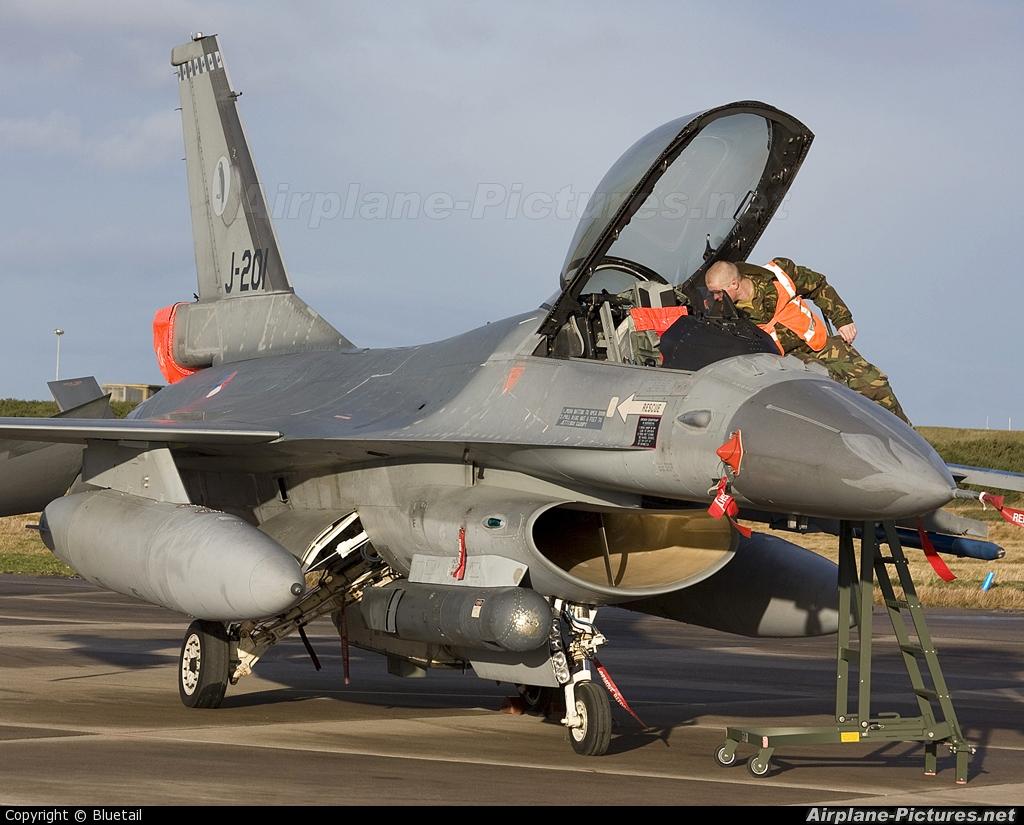 Netherlands - Air Force J-201 aircraft at Kinloss