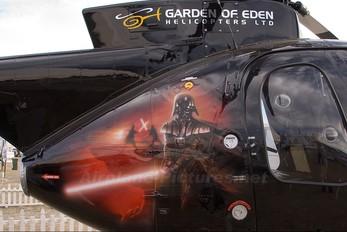 ZK-HYY - Garden of Eden Helicopters Hughes 369D