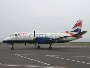G-LGNB - British Airways - Loganair SAAB 340