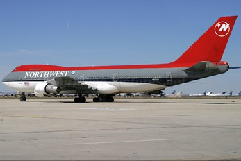 N631US - Northwest Airlines Boeing 747-200