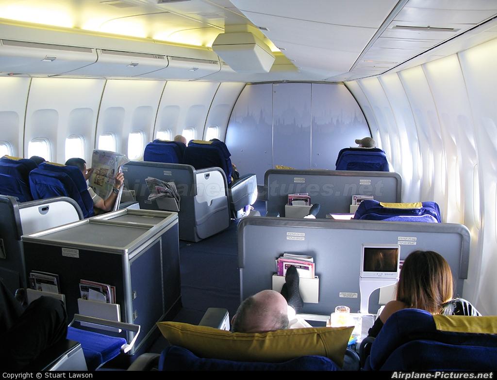 Hs Tga Thai Airways Boeing 747 400 At In Flight
