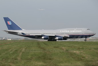 N194UA - United Airlines Boeing 747-400
