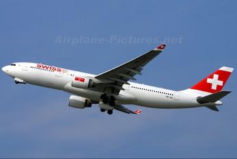 HB-IQG - Swiss Airbus A330-200