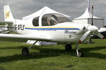 G-XFLY - Private Lambert Aircraft Engineering BVBA Mission M212-100