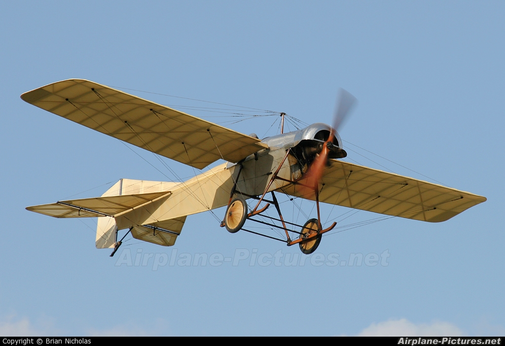 The Shuttleworth Collection G-AANI aircraft at Old Warden