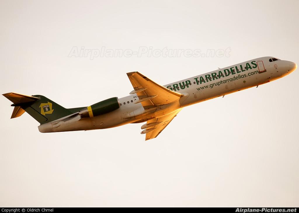 Air Grup Tarradellas EC-IPV aircraft at Prague - Václav Havel