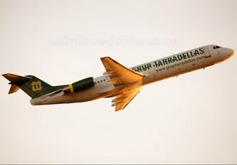 EC-IPV - Air Grup Tarradellas Fokker 100