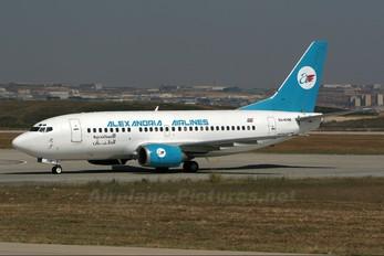 SU-KHM - Alexandria Airlines Boeing 737-500