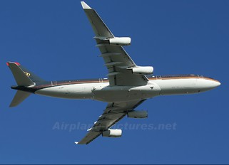 JY-ABH - Jordan - Royal Flight Airbus A340-200