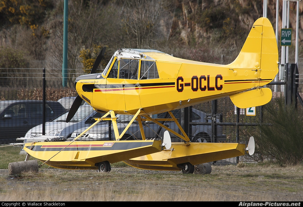 Caledonian Seaplanes G-OCLC aircraft at Dundee