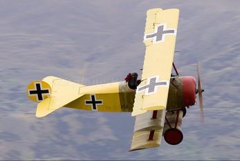ZK-FOT - The Vintage Aviator Limited Fokker DR1 Triplane