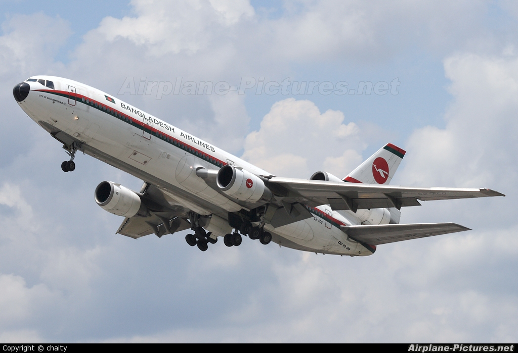 Biman Bangladesh S2-ACO aircraft at Kuala Lumpur Intl