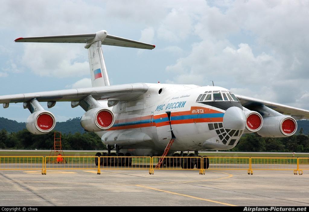Russia - МЧС России EMERCOM RA-76429 aircraft at Langkawi