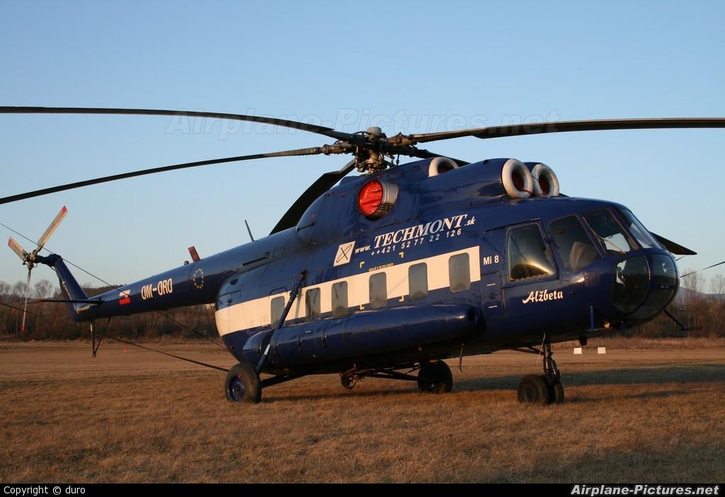 Techmont Mil Mi-8 OM-ORO