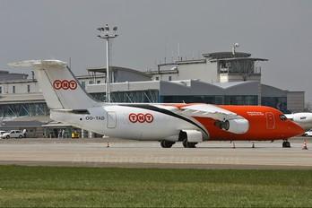 OO-TAD - TNT British Aerospace BAe 146-200/Avro RJ85-QT Quiet Trader