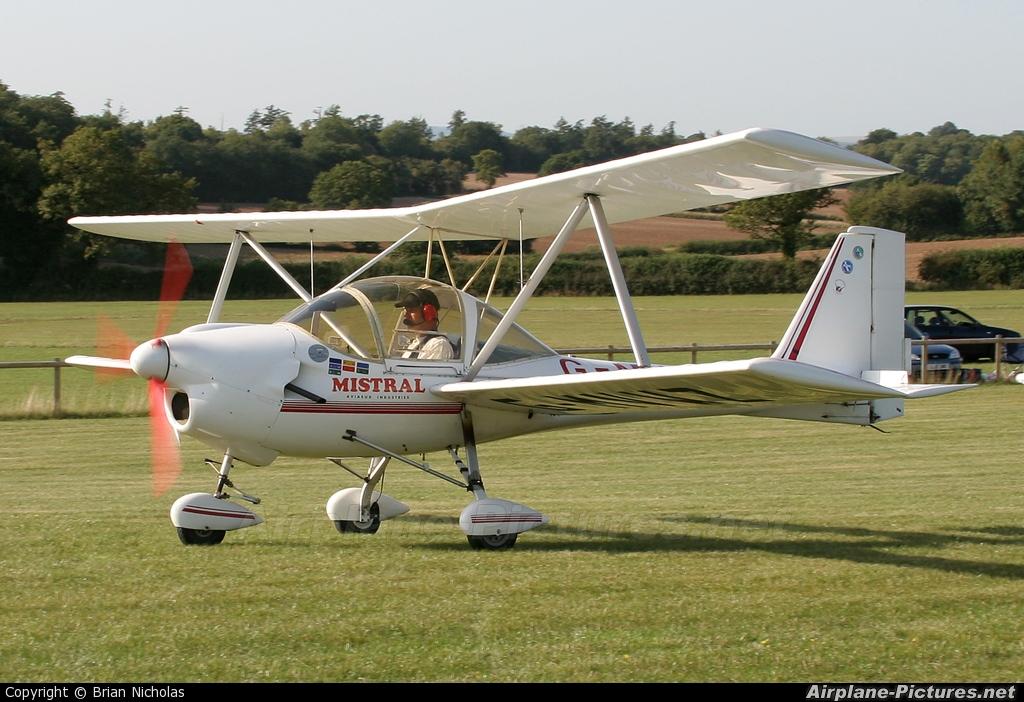 Private G-MVWZ aircraft at Popham