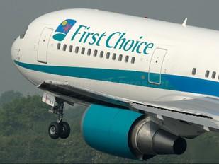 G-DBLA - First Choice Airways Boeing 767-300