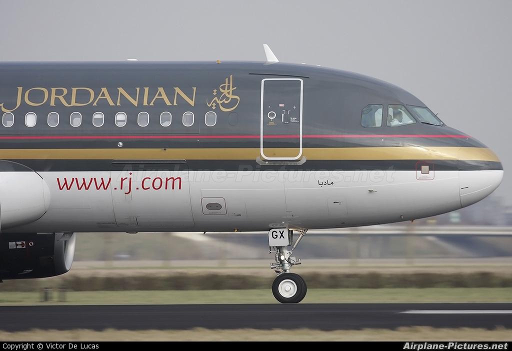 Royal Jordanian F-OHGX aircraft at Amsterdam - Schiphol