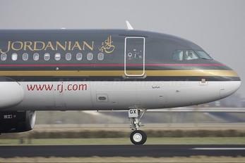 F-OHGX - Royal Jordanian Airbus A320