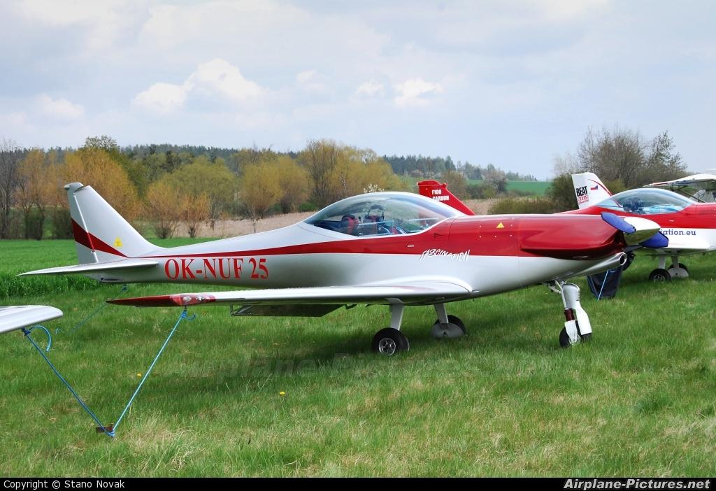 Private OK-NUF25 aircraft at Příbram