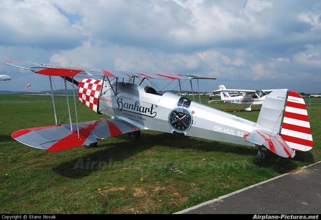 Private OK-HUL 02 aircraft at Příbram