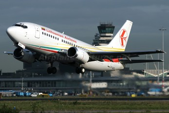 LY-AZX - Lithuanian Airlines Boeing 737-500