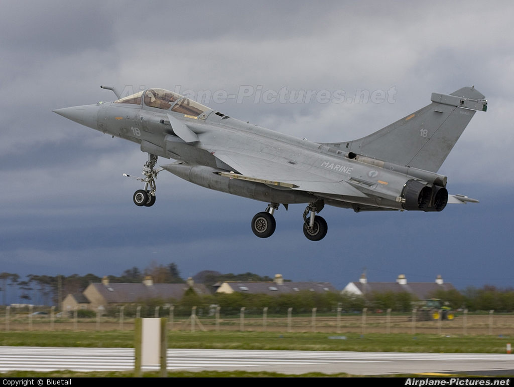 France - Navy 18 aircraft at Lossiemouth