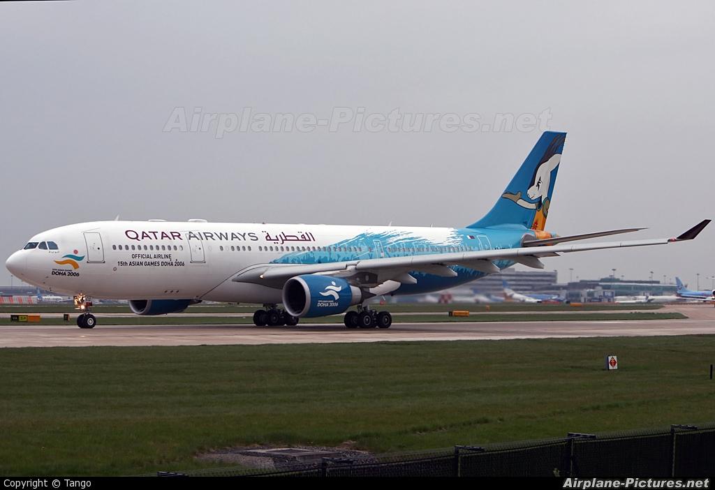Qatar Airways A7-ACG aircraft at Manchester