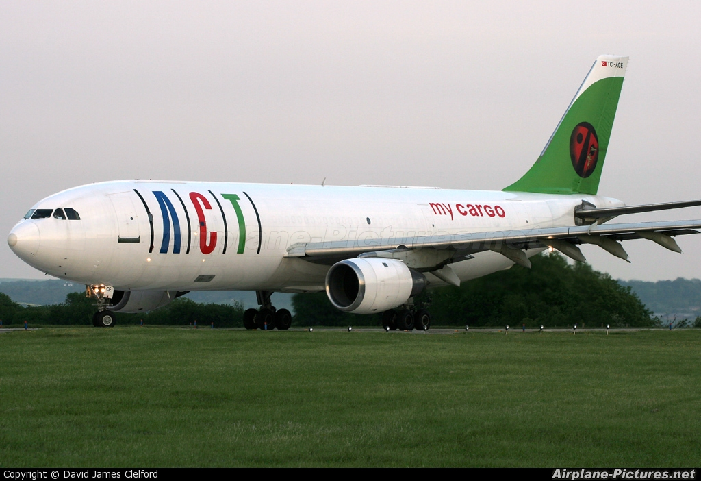 ACT Cargo TC-ACE aircraft at Lyneham