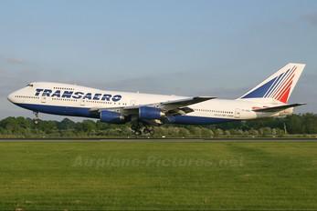 VP-BQC - Transaero Airlines Boeing 747-200