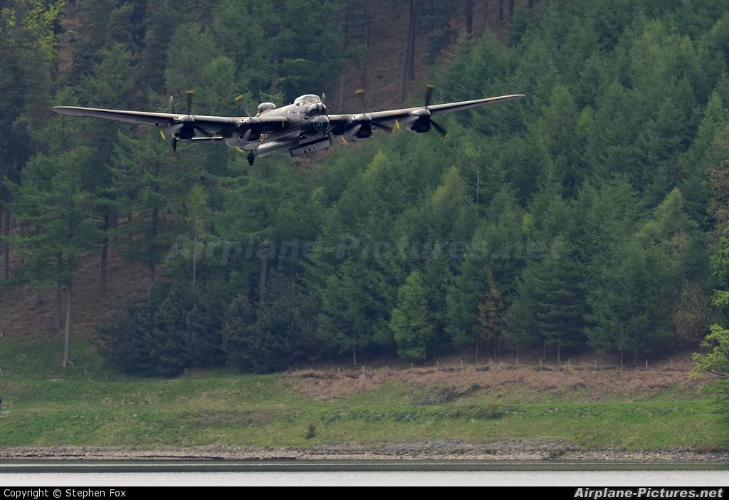 "Royal Air Force ""Battle of Britain Memorial Flight&quot PA474 aircraft at Off Airport - England"
