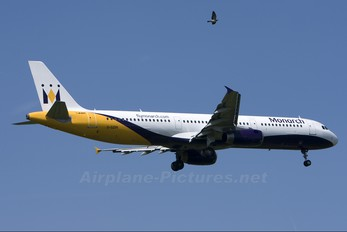 G-OZBN - Monarch Airlines Airbus A321