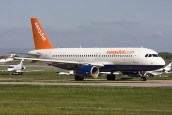 G-TTOC - easyJet Airbus A320