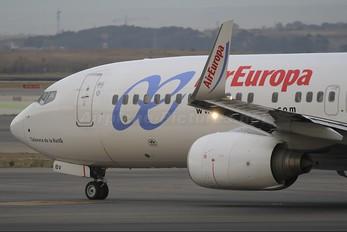 EC-KBV - Air Europa Boeing 737-800