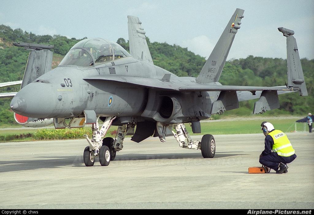 Malaysia - Air Force M45-03 aircraft at Langkawi