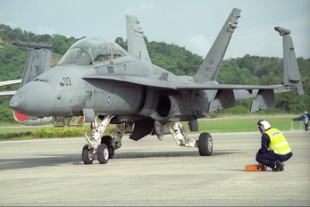M45-03 - Malaysia - Air Force McDonnell Douglas F-18D Hornet