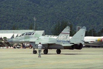 154 - Russia - Air Force Mikoyan-Gurevich MiG-29M2