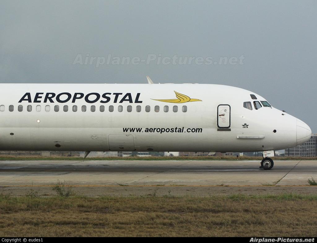 Aeropostal YV138T aircraft at Caracas - Maiquetia-Simon Bolivar Intl