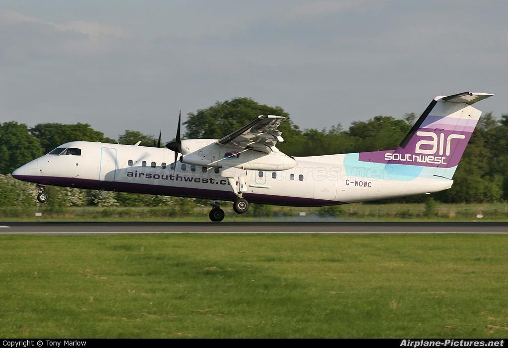 Air Southwest G-WOWC aircraft at Manchester