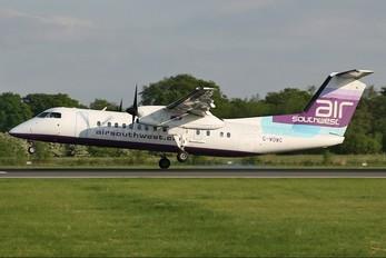 G-WOWC - Air Southwest de Havilland Canada DHC-8-300Q Dash 8