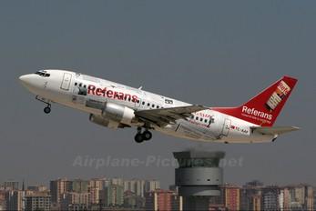 TC-AAF - Pegasus Boeing 737-500