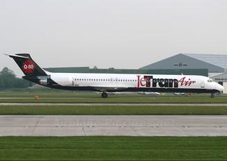 YR-MDK - Jet Tran Air McDonnell Douglas MD-82