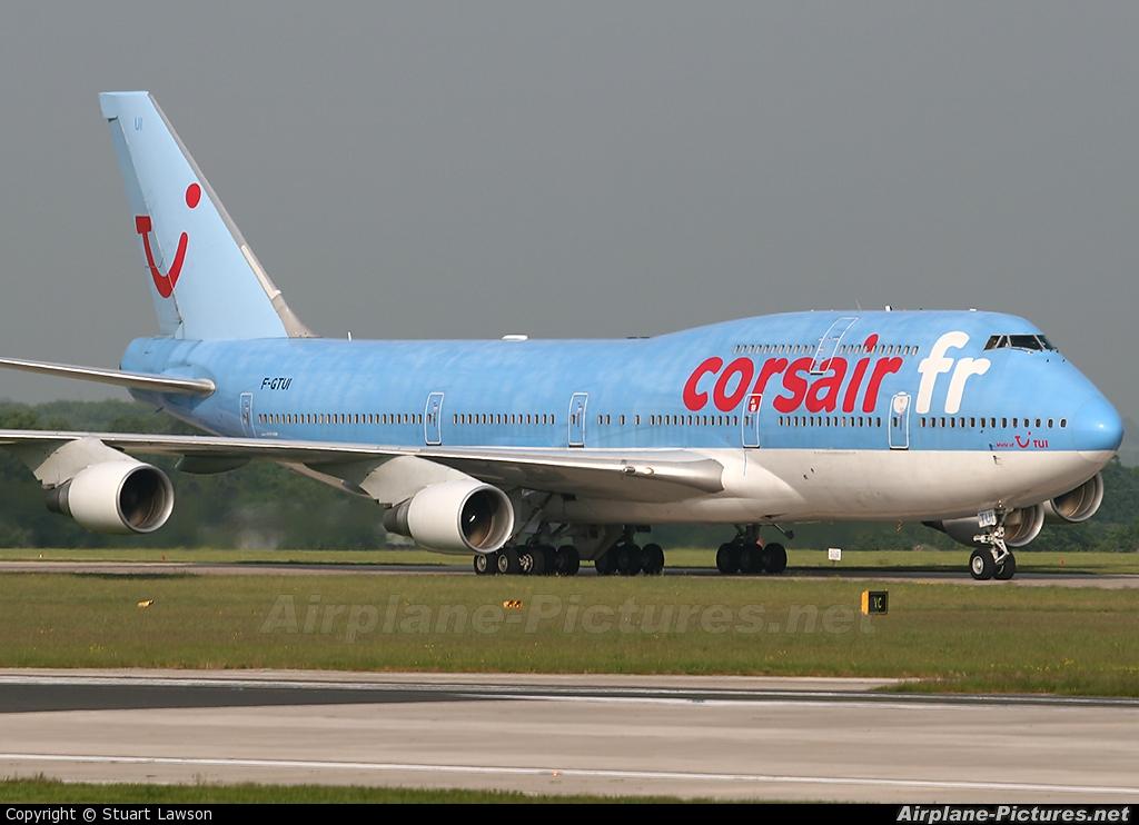 F gtui corsair corsair intl boeing 747 400 at for Interieur 747 corsair