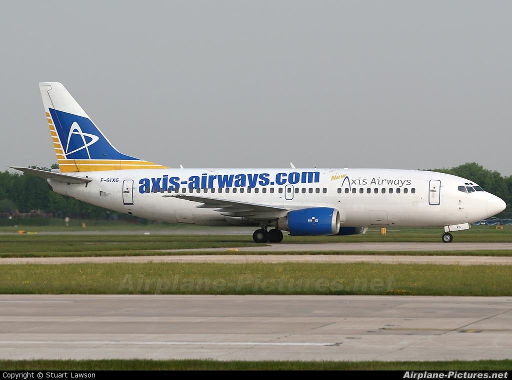 Axis Airways F-GIXG aircraft at Manchester