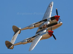 NL7723C - Private Lockheed P-38 Lightning